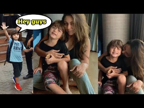 Xxx Mp4 Shah Rukh Khan's Son AbRam New Video Says He Is A Rockstar Check Out Why 3gp Sex