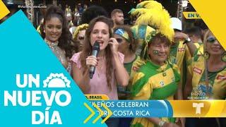 Los brasileros sueñan con levantar la copa en Rusia | Un Nuevo Día | Telemundo