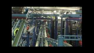 Solutions for airports FRAPORT baggage handling system
