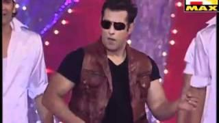 Salman Khan Performance - Max Stardust Awards - 20th February 2011