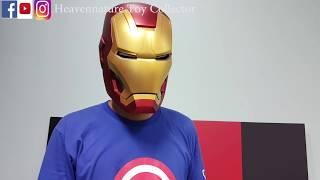 Iron Man Mark 42 Metal Diecast Helmet 钢铁侠mk42合金头盔
