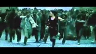 Resident Evil Afterlife   Zombie Roof Top Kill Scene BIG