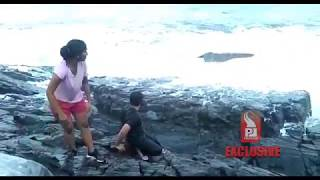 TOURIST GETS WASHED AWAY AT SIQUERIM _Prudent Media Goa