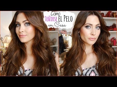 Como Teñirse/Pintarse el Pelo en casa (Color, tips) How I dye my hair at home