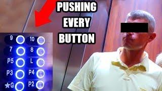 ELEVATOR PRANK!! Pushing Every Button! JSC #13