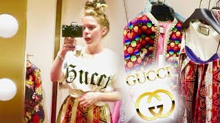 INSIDE The GUCCI Store Dressing Room!