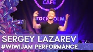 """Sergey Lazarev """"Take It Off"""" at the Wiwi Jam Stockholm 