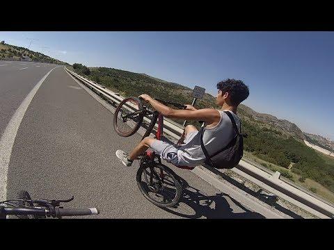 Bisikletle Ankara'dan Kırıkkale'ye Gittik 100 kilometress 8 Saatte :D