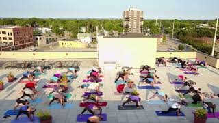 Rooftop Yoga - Stephanie Matulle, RYT - Oshkosh Wis