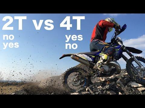 2T vs 4T  96ENDURO