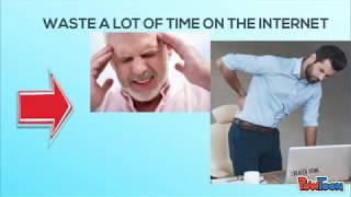 DISADVANTAGE OF INTERNET