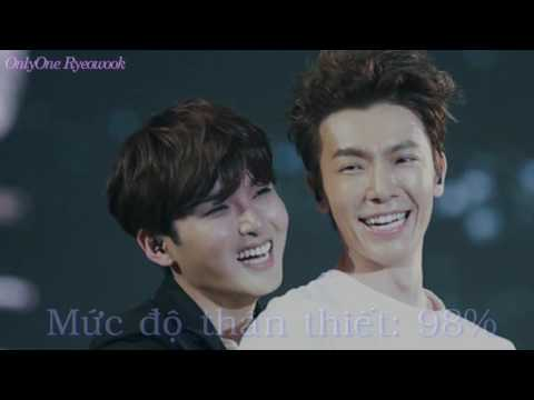 Happy Birthday Kim Ryeowook 31st The intimacy between Ryeowook and other members