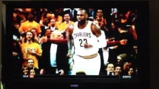 Raptors vs. Cavaliers Game 5 Eastern Conf. Finals 2016 Promo