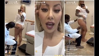 Amber Rose Goes To The Doctor To Get Her Booty Updated