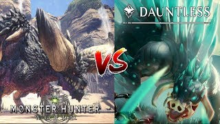 """Dauntless - """"Nergigante's Retarded Little Brother!""""...Cheap Rip Off! - (Fanboy Trigger Warning)"""