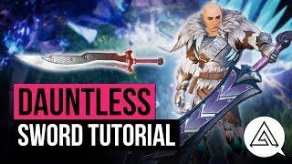 Dauntless | Sword Weapon Tutorial