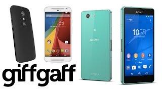 Motorola Moto G vs Sony Xperia Z3 Compact | giffgaff