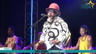 FEMUA 9 : Papa Wemba le dernier show