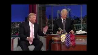 Made in Bangladesh shirts are the best: Donald Trump in David Letterman show