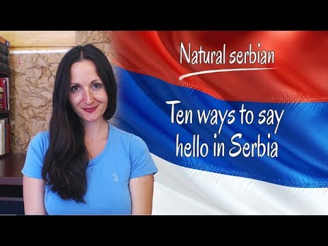 Xxx Mp4 10 Ways To Say Hello In Serbia By Serbian Courses 3gp Sex