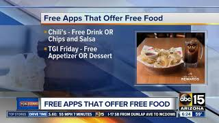 Apps that get you free food