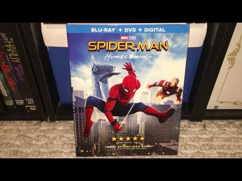Xxx Mp4 Spider Man Homecoming Blu Ray DVD Combo Pack Review 3gp Sex