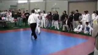 Benjamin Roberts at Ivy Northeast Taekwondo