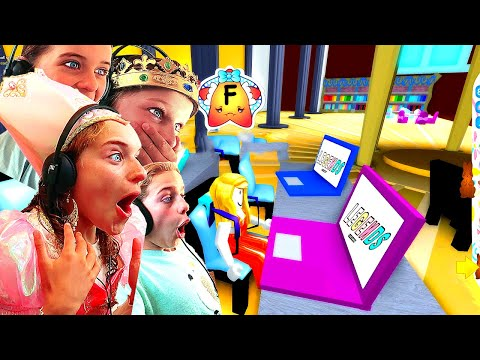 HOMESCHOOL KIDS GO TO SCHOOL FOR THE FIRST TIME at Royale High Roblox Gaming w The Norris Nuts