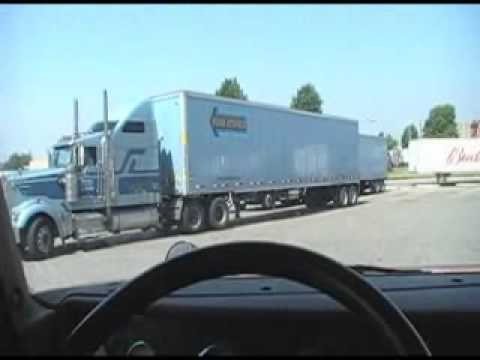 Backing Lesson Courtosey Werner Transport Driver