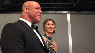 See Kurt Angle's emotional reaction to John Cena's WWE Hall of Fame induction speech