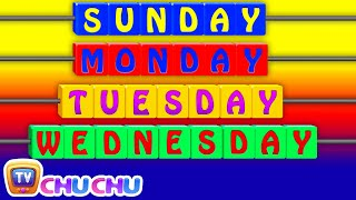 Days of the Week Song - 7 Days of the Week – Nursery Rhymes & Children