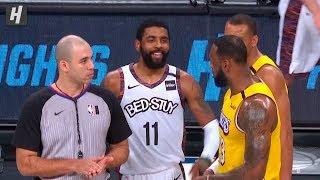 Kyrie Irving TAUNTS LeBron James - Lakers vs Nets | January 23, 2020