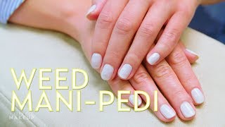 Weed Mani-Pedi? We Tried a CBD Oil Beauty Treatment   The SASS with Susan and Sharzad