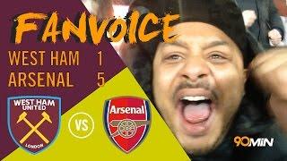 Alexis Sanchez Hat trick as Arsenal beat West Ham 5-1   Arsenal thrash West Ham   90min FanVoice