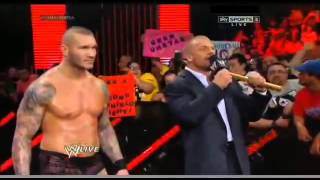 WWE RAW - Seth Rollins attack Dean Ambrose and Roman Reigns (June 2, 2014 - Part 5/5)