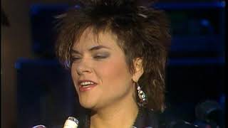 American Bandstand 1985- Interview Rosanne Cash