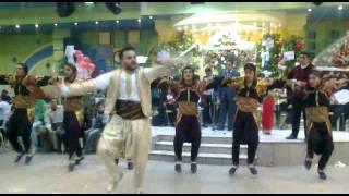 رقص عربي لفرقة الوتار للرقص والعراضة الحلبيةالوتار