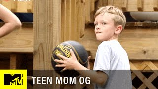 Bentley's Home Videos: Nailing a Trick Shot | Teen Mom (Season 6) | MTV