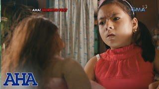 AHA!: Spoiled brat meets chaka doll