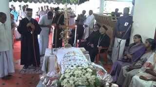 Funeral of Mariamma Jacob, Vazhathara