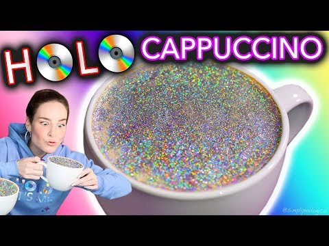 HOLO CAPPUCCINO DIY Diamond Cappuccino test maybe don t drink this