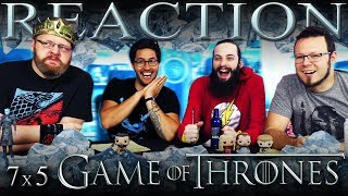Game of Thrones 7x5 REACTION!!