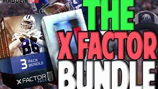 THE X-FACTOR BUNDLE | MADDEN 16 ULTIMATE TEAM PACK OPENING | JUICE PACKS?