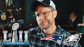 Dad Reacts to Super Bowl LII Patriots vs Eagles