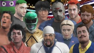 30 MAN CELEBRITY ROYAL RUMBLE   WWE 2K17
