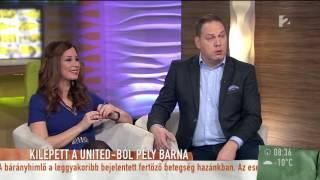 Ezért lép ki Pély Barna a Unitedból - tv2.hu/mokka