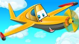 Wheels On The Plane   Nursery Rhymes   Kids Songs For Babies   Children Rhyme