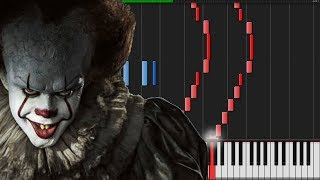 It (2017) Medley [Piano Tutorial] (Synthesia) // Marco Tornatore