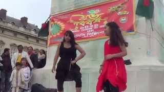 Dance - Jole Utho Bangladesh - Arfin Rumey - Pohela Boishakh - Paris - 2014