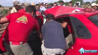 Acidente de trânsito entre Iguatu e Jucás deixa uma vítima gravemente ferida